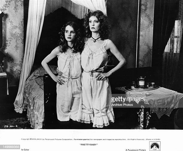 Brooke Shields and Susan Sarandon pose for a photographer fascinated by the images of the women living in the red light district of 1917 New Orleans...