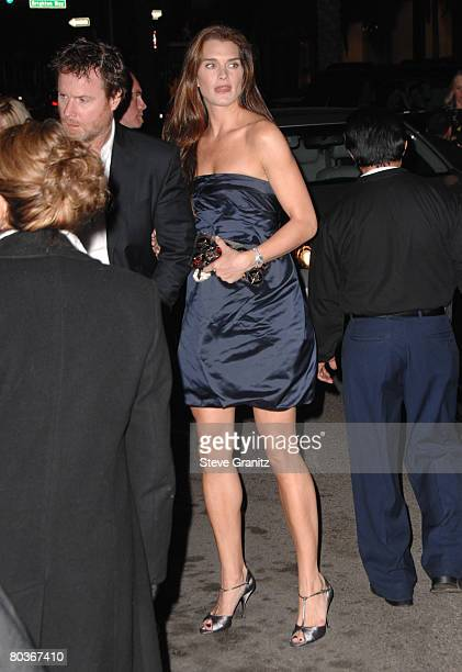 2f7af9418305 Brooke Shields arrives at the Prada Presents Trembled Blossoms LA on March  19 2008 at Prada