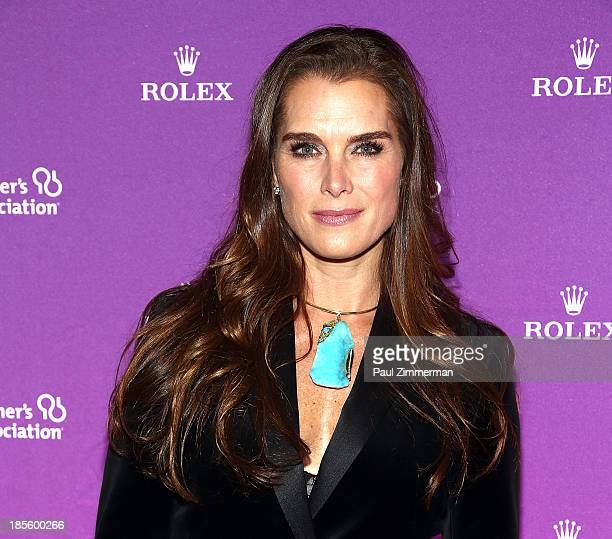 Brooke Shields attends 2013 Alzheimer's Association Rita Hayworth 30th Anniversary gala at The Waldorf=Astoria on October 22 2013 in New York City