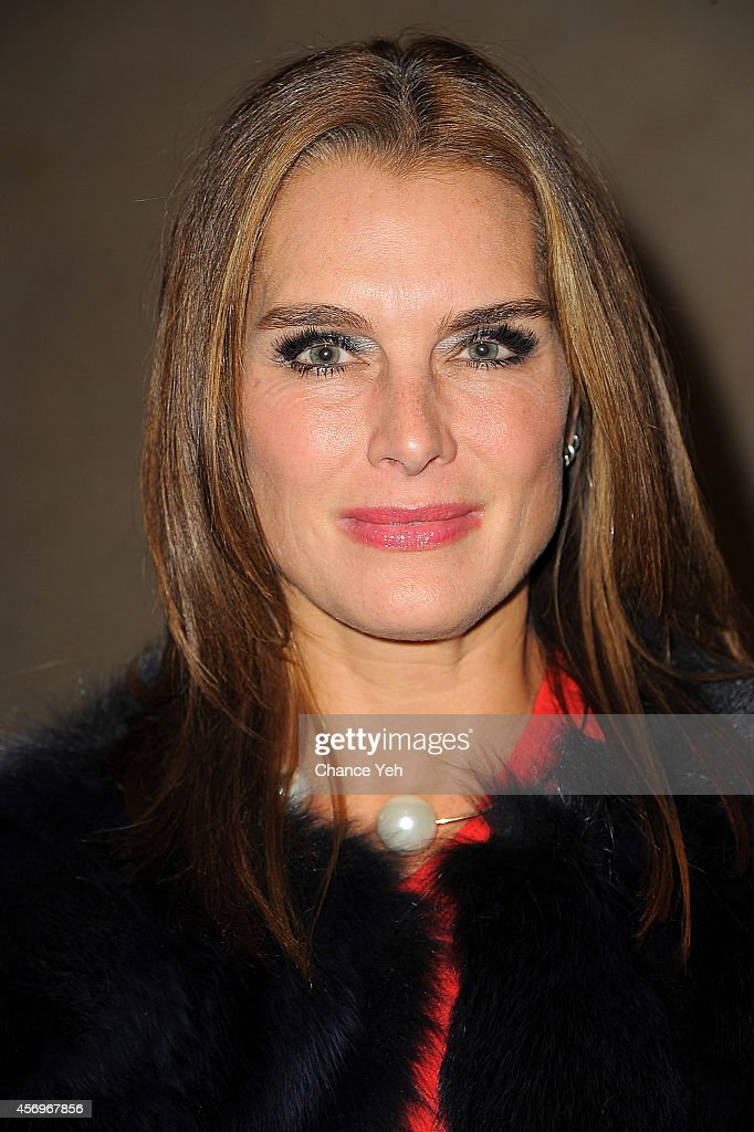 Brooke Shields attends 2014 Take Home A Nude Event at Sotheby's on October 9, 2014 in New York City.