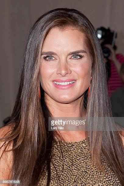 Brooke Shields attends 'American Woman Fashioning A National Identity' Costume Institute Gala at The Metropolitan Museum of Art in New York City