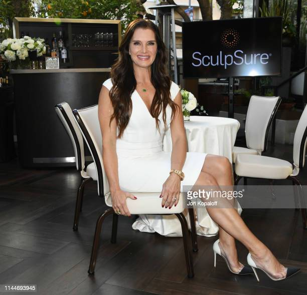 Brooke Shields attends Brooke Shields Announced As SculpSure Body Contouring Celebrity Spokesperson at Four Seasons Los Angeles at Beverly Hills on...
