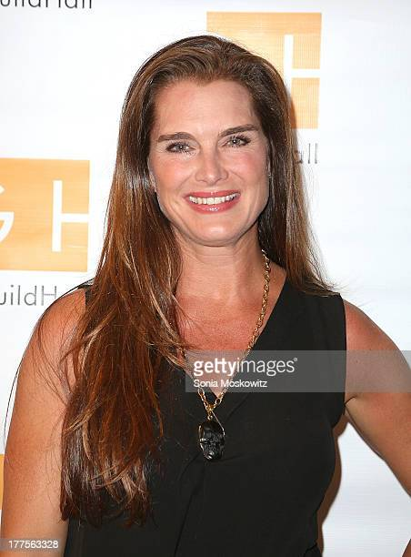 Brooke Shields attends Celebrity Autobiography at Guild Hall on August 23 2013 in East Hampton New York