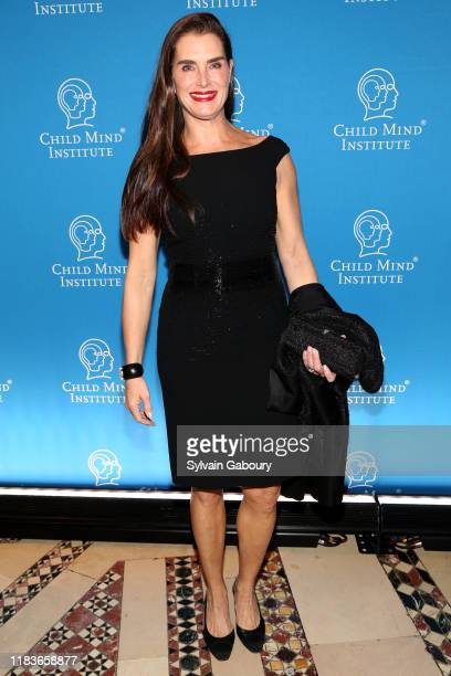 Brooke Shields attends Child Mind Institute 2019 Child Advocacy Award Dinner at Cipriani 42nd Street on November 19 2019 in New York City