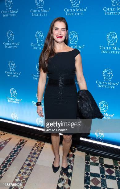 Brooke Shields attends Child Mind Institute Advocacy Dinner at Cipriani 42nd Street on November 19 2019 in New York City