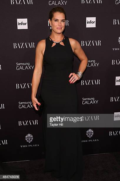 Brooke Shields attends Harper's Bazaar ICONS Celebration at The Plaza Hotel on September 5 2014 in New York City