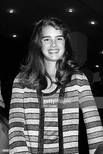 Brooke Shields attends New York Police Bullet Proof Vest Benefit Party on April 22 1979 at the Shubert Theater in New York City