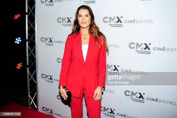 Brooke Shields attends Opening Of CMX CineBistro With Special Screenings Of BlacKkKlansman City Lights Pretty Baby at CMX CineBistro NYC on November...