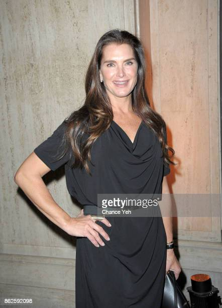 Brooke Shields attends Skin Cancer Foundation Champions For Change gala at Cipriani 25 Broadway on October 17 2017 in New York City