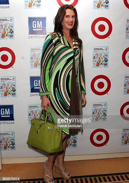 Brooke Shields attends Target Celebrates Author Jane Buckingham's The Modern Girl's Guide to Motherhood at Regent Beverly Wilshire Hotel on May 3...