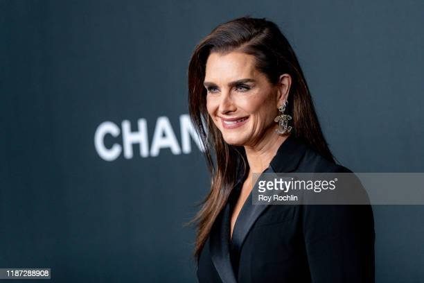 Brooke Shields attends the 2019 Museum Of Modern Art Film Benefit: A Tribute To Laura Dern at Museum of Modern Art on November 12, 2019 in New York...