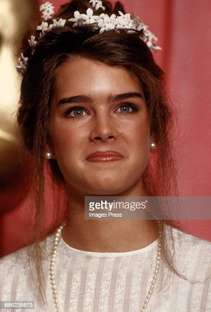 Brooke Shields attends the 51st Academy Awards circa 1979 in Los Angeles California