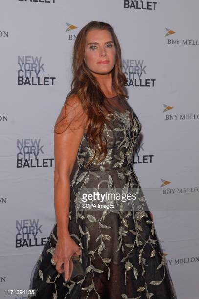 Brooke Shields attends the 8th Annual New York City Ballet Fall Fashion Gala at David H Koch Theater Lincoln Center
