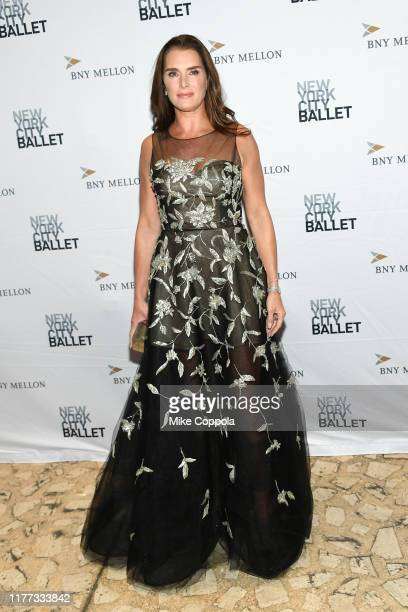 Brooke Shields attends the 8th Annual New York City Ballet Fall Fashion Gala at David H. Koch Theater, Lincoln Center on September 26, 2019 in New...