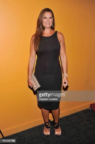 Brooke Shields attends the 'Bachelorette' New York Premiere at Sunshine Landmark on September 4 2012 in New York City