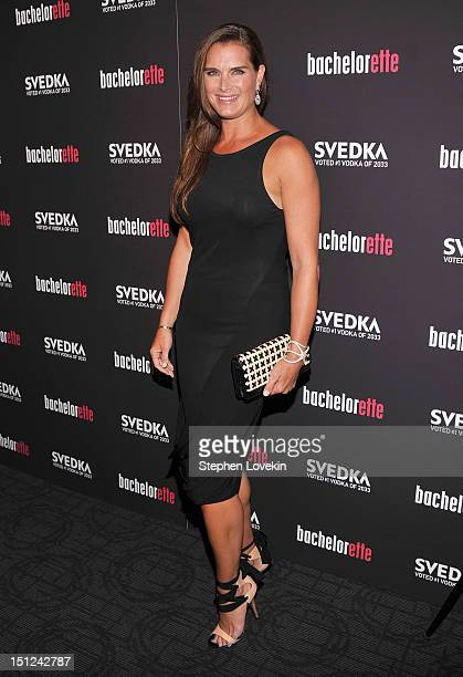 Brooke Shields attends the Bachelorette New York Premiere at Sunshine Landmark on September 4 2012 in New York City
