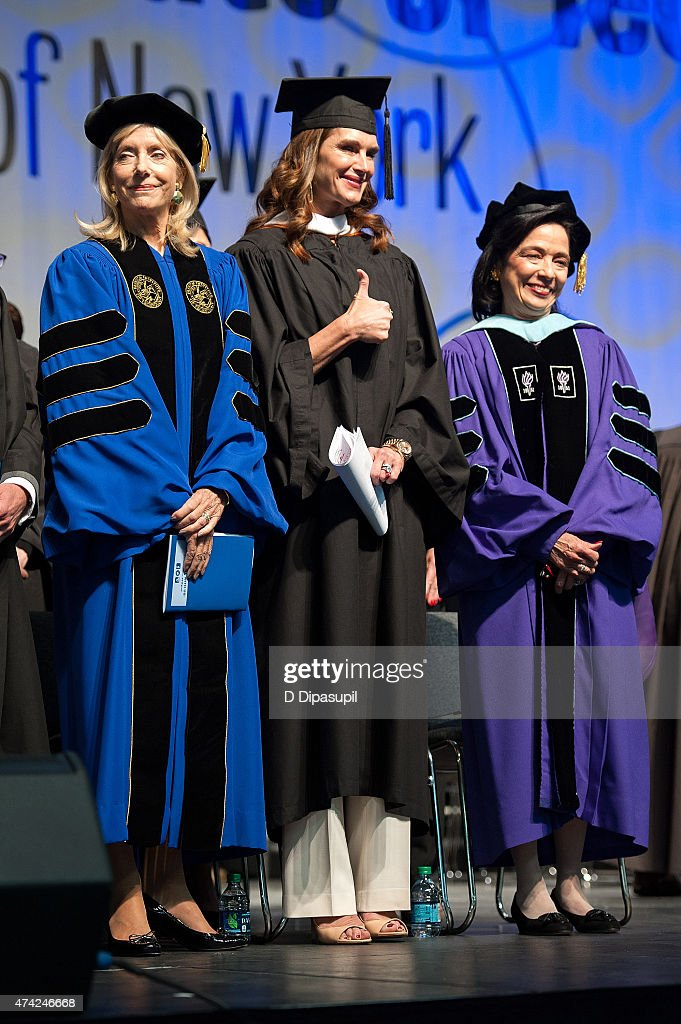 Fashion Institute Of Technology Commencement 2015 : News Photo