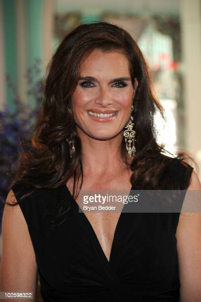 Brooke Shields attends the grand opening of the Casino Club at The Greenbrier on July 2 2010 in White Sulphur Springs West Virginia