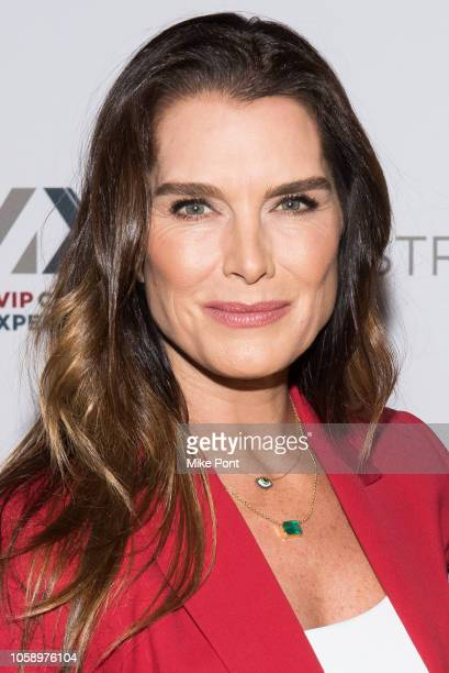 Brooke Shields attends the opening of CMX CineBistro with special screenings of BlacKkKlansman City Lights Pretty Baby at CMX CineBistro on November...