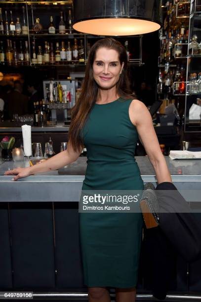 Brooke Shields attends the 'Two Turns From Zero' Book Launch Event at The Regency Bar and Grill on March 8 2017 in New York City