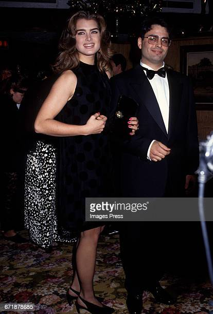 Brooke Shields attends Truman Capote's Black White Ball Recreation hosted by Princess Yasmin Aga Khan at Tavern on the Green circa 1991 in New York...
