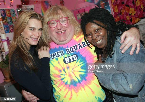 Brooke Shields Bruce Vilanch and Whoopi Goldberg during The 2005 Broadway Cares/Equity Fights AIDS 'Gypsy of The Year Competition' at The Neil Simon...