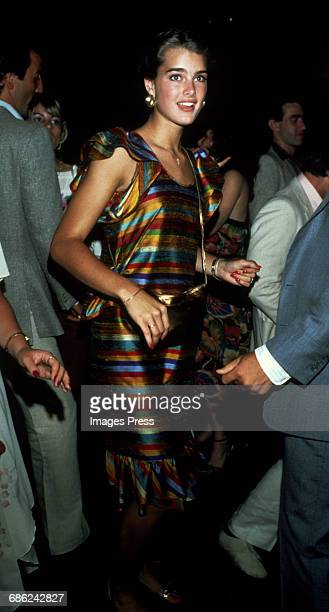 Brooke Shields circa 1981 in New York City
