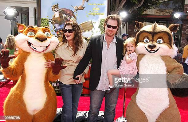 Brooke Shields, Daughter Rowan Francis and Chris Henchy