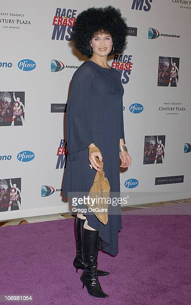 Brooke Shields during 13th Annual Race to Erase MS Sponsored by Nancy Davis and Tommy Hilfiger - Arrivals at Hyatt Regency Century Plaza in Century...