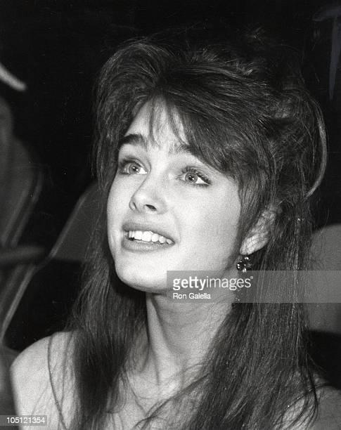 Brooke Shields during Bob Hope's 30th Anniversary Party at NBC's Burbank Studio in Burbank California United States