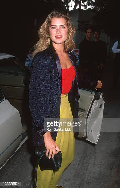 Brooke Shields during Party Hosted by Quincy Jones July 16 1990 at Roxbury Night Club in West Hollywood California United States