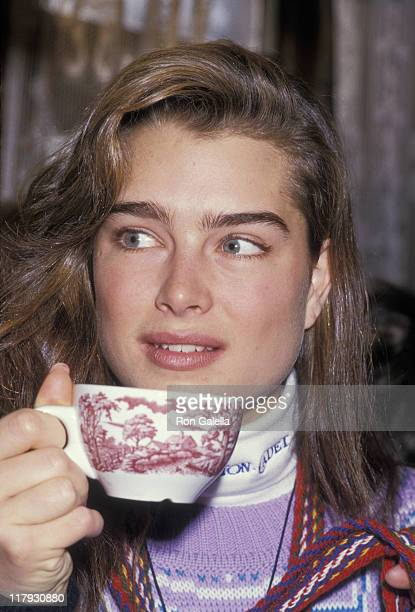 Brooke Shields during Pepsi Celebrity Ski Invitational in Conjunction with Quebec's Winter Carnival at Mount St. Anne in Beaupré, Quebec, Canada.