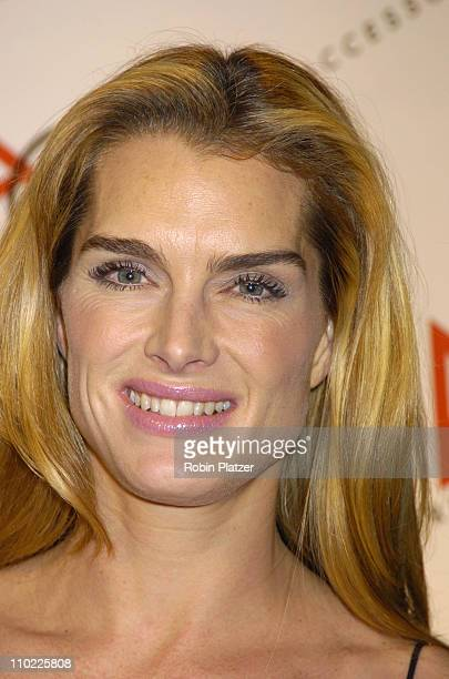 Brooke Shields during The Accessories Council Presents the 8th Annual Ace Awards at Cipriani 42nd Street in New York City New York United States