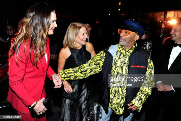 Brooke Shields Katie Couric and Spike Lee attend Opening Of CMX CineBistro With Special Screenings Of BlacKkKlansman City Lights Pretty Baby at CMX...