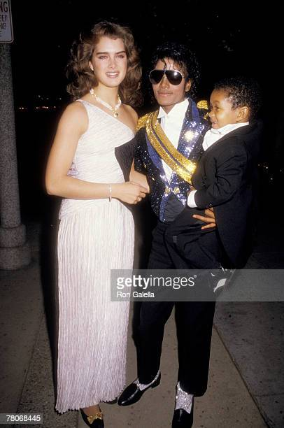 Brooke Shields Michael Jackson and Emmanuel Lewis