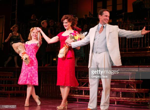 Brooke Shields with costars Jennifer Hope Wills and Matthew Shepard