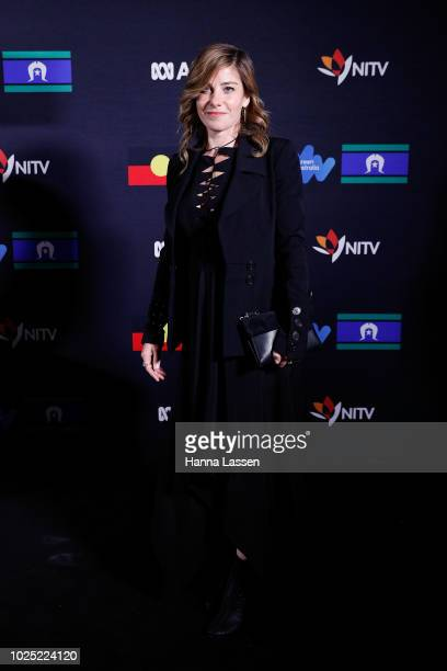 Brooke Stachwell attends the 25th Anniversary of Screen Australia's Indigenous Department at Carriageworks on August 30 2018 in Sydney Australia