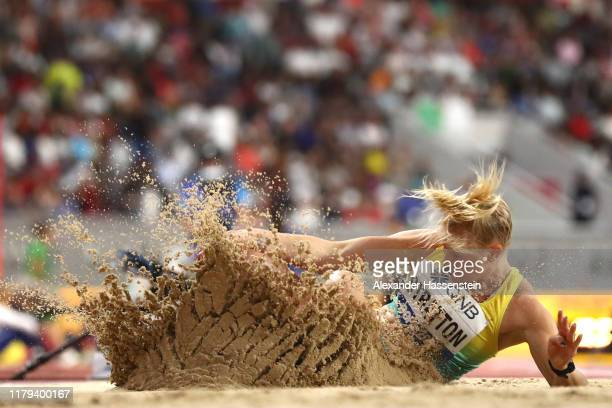 Brooke Stratton of Australia competes in the Women's Long Jump final during day ten of 17th IAAF World Athletics Championships Doha 2019 at Khalifa...