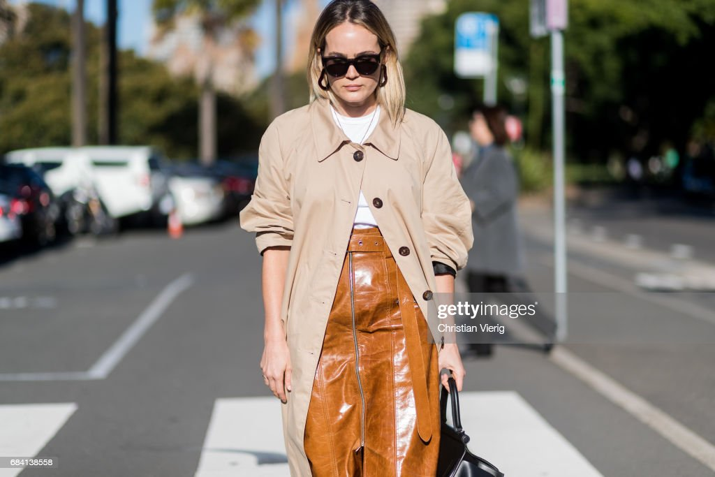 Street Style - Mercedes-Benz Fashion Week Australia 2017 : Photo d'actualité