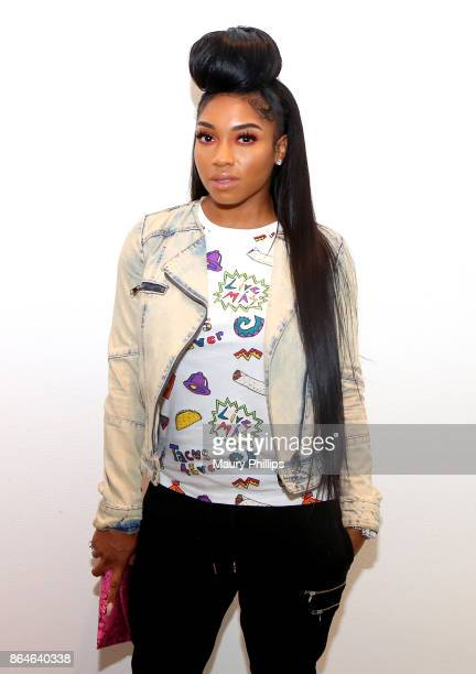 Brooke Valentine attends Concreet offcial launch and mixer at Milk Studios on October 20 2017 in Hollywood California