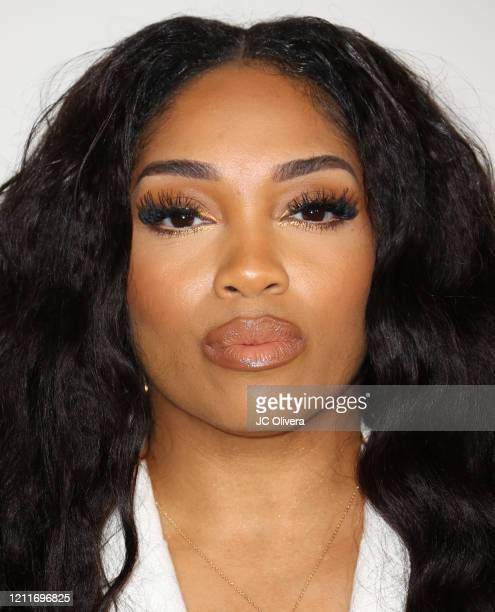 """Brooke Valentine attends the premiere of BET's """"Boomerang"""" Season 2 at Paramount Studios on March 10, 2020 in Los Angeles, California."""