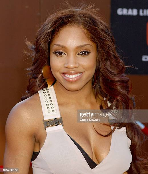 Brooke Valentine during 10th Annual Soul Train Lady of Soul Awards Arrivals at Pasadena Civic Auditorium in Pasadena California United States