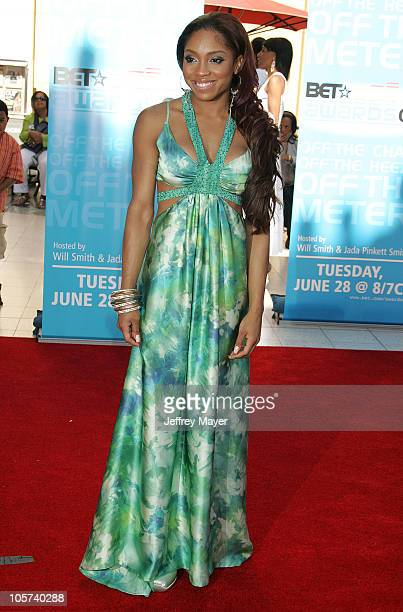Brooke Valentine during 2005 BET Awards Arrivals at Kodak Theatre in Hollywood California United States