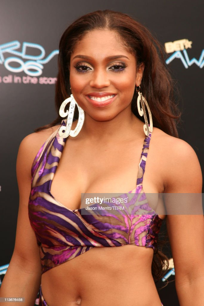 Brooke Valentine during 2006 BET Awards - Arrivals at The Shrine in Los Angeles, California, United States.