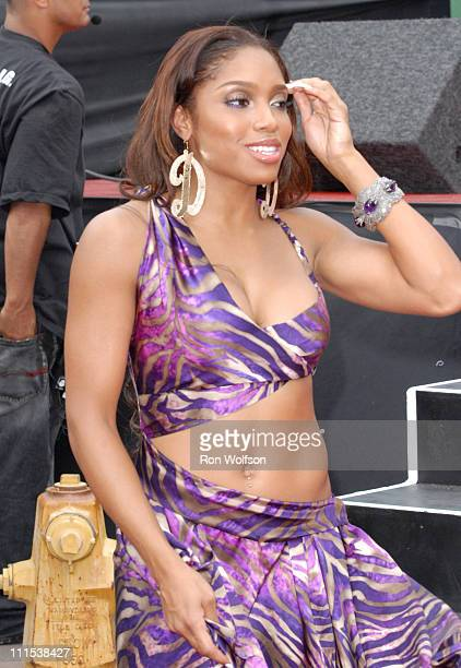 Brooke Valentine during 6th Annual BET Awards 106 Park at Shrine Auditorium in Los Angeles CA United States