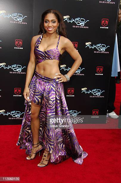 Brooke Valentine during 6th Annual BET Awards Arrivals at Shrine Auditorium in Los Angeles CA United States