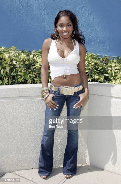Brooke Valentine during Radio One Spring Fest Day 2 So So Def Virgin Records Pool Party at Marriott Biscayne Bay Hotel in Miami Flordia United States