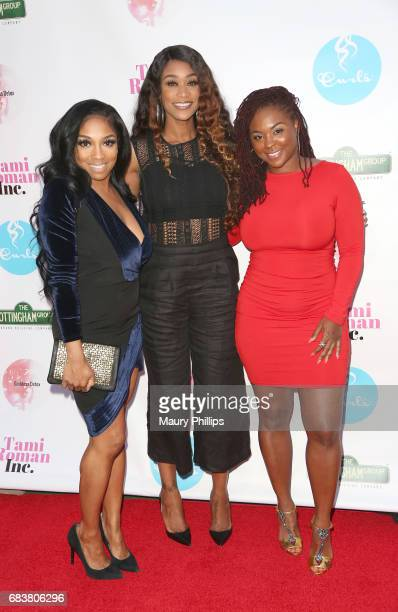 Brooke Valentine Tami Roman and Torrei Hart attend the Women of Influence Dinner at Xen Lounge on May 15 2017 in Studio City California