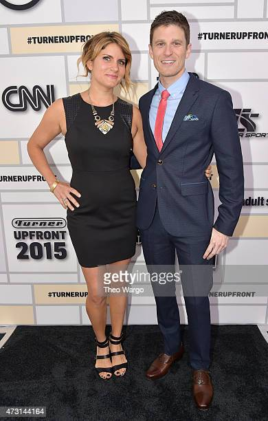 Brooke Van Poppelen and Kevin Pereira attend the Turner Upfront 2015 at Madison Square Garden on May 13 2015 in New York City JPG