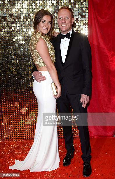 Brooke Vincent and Antony Cotton attend the British Soap Awards held at the Hackney Empire on May 24 2014 in London England